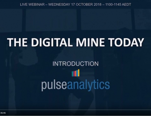 Webinar demonstrates Pulse Analytics for mining [video]